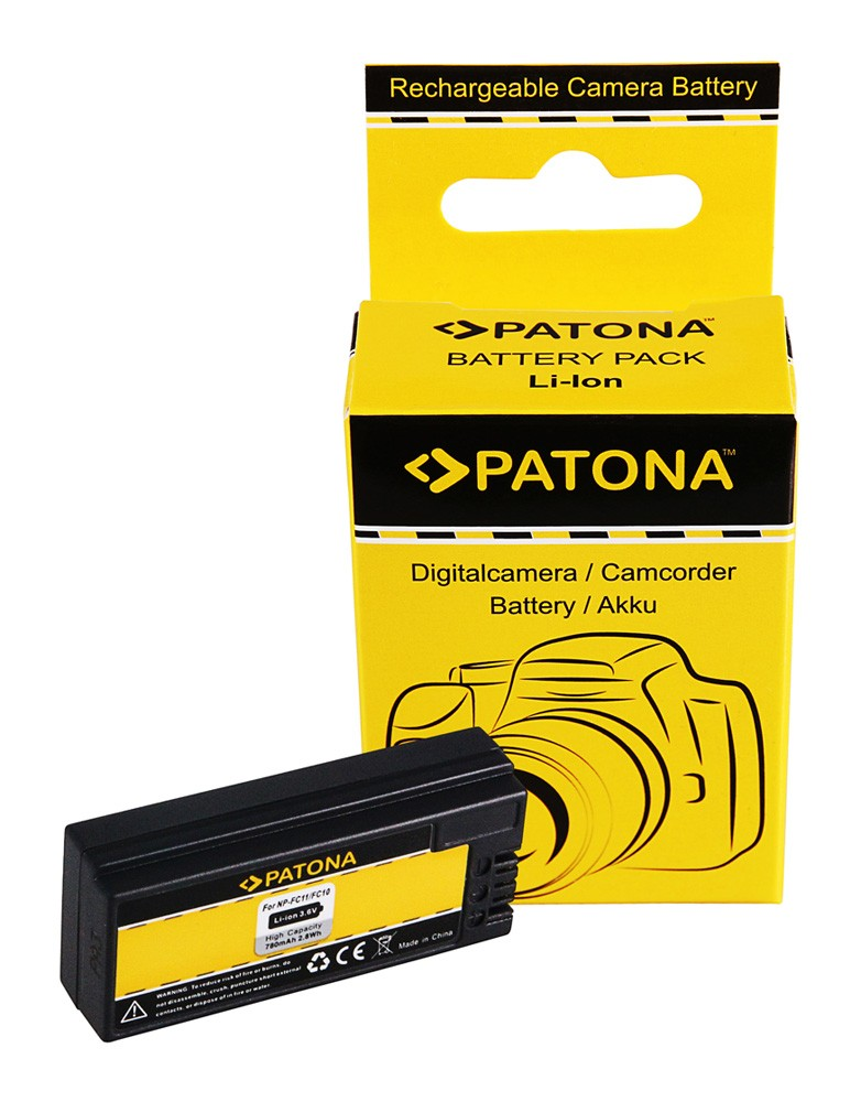 PATONA Battery f. Sony FC10 FD11 DSC-P2 P3 P5 P7 P8 P9 P10 P