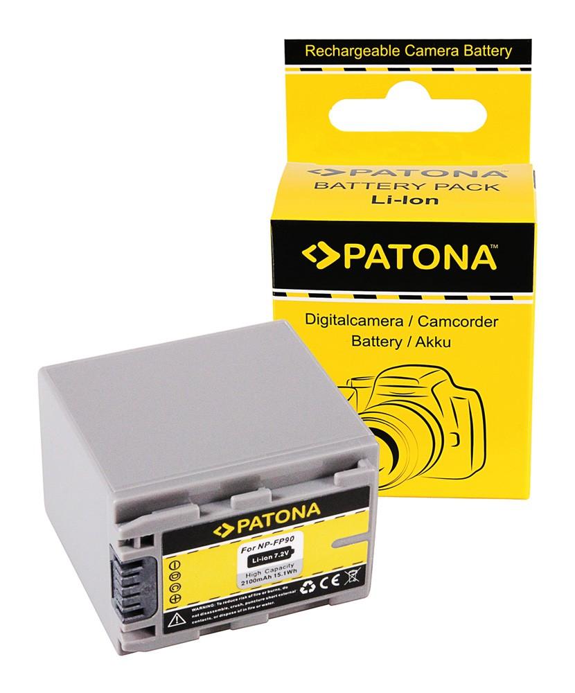 PATONA Battery f. Sony DCR-HC23 HC24 HC35 NP-FP60 FP70 FP90