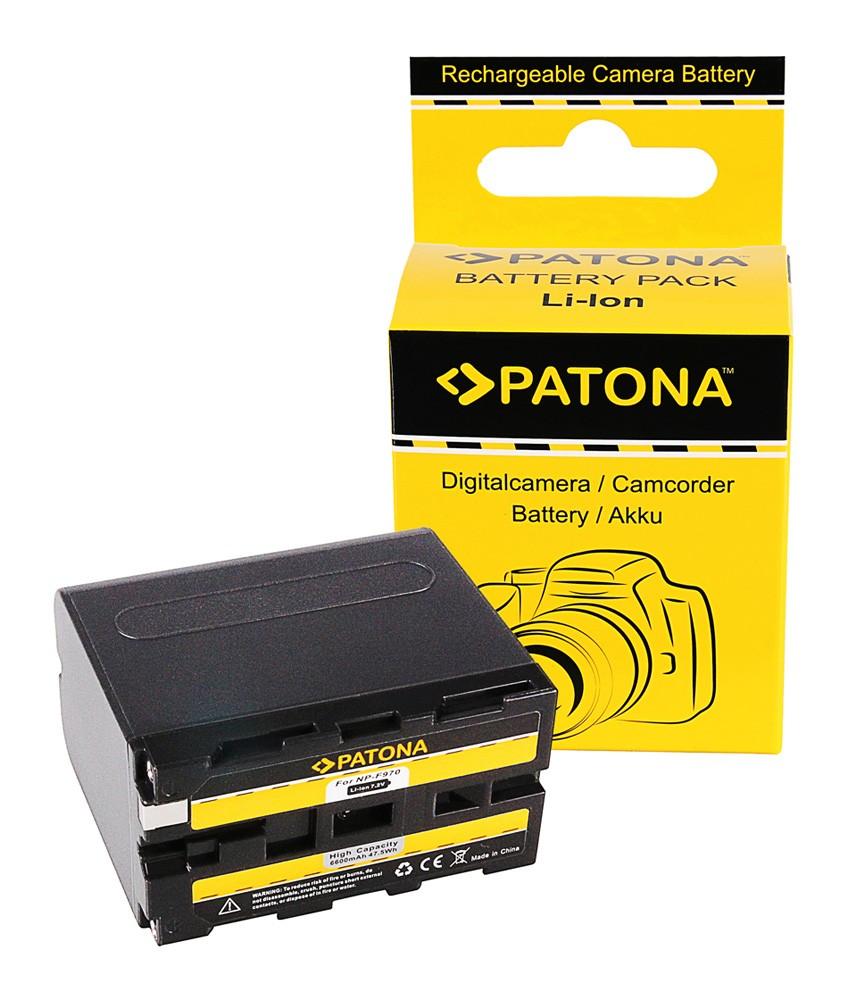 PATONA Battery f. Sony NP-F970 NP-F960 NP-F950 DCR-VX2100 HD
