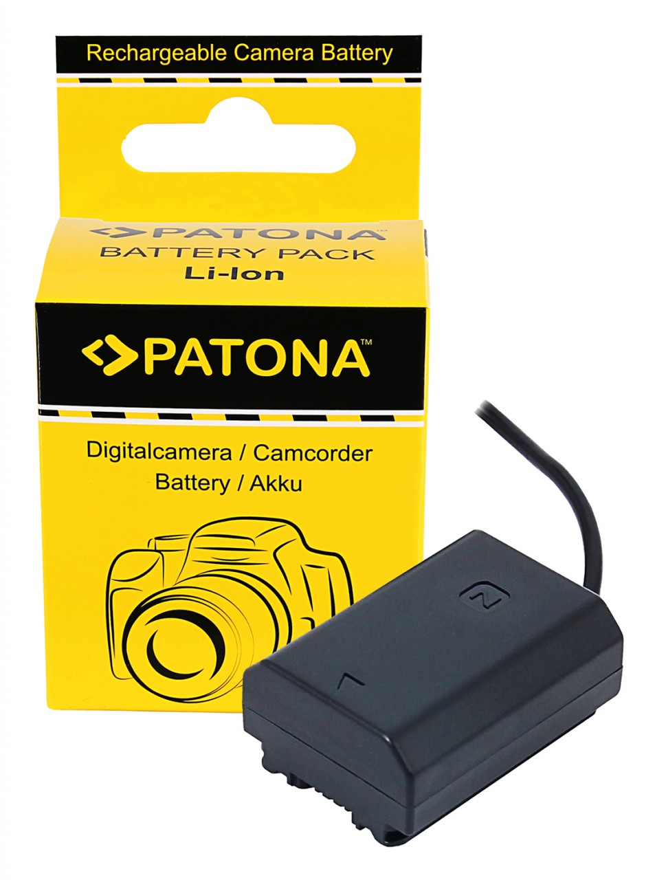PATONA D-TAP Input Battery Adapter for Sony NP-FZ100 A7 III