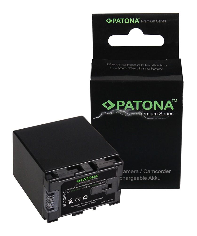PATONA Premium Battery f. JVC BN-VG107 BN-VG138 BN-VG121 BN