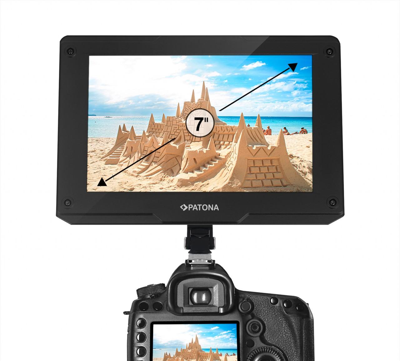 PATONA Premium LCD 3G-SDI monitor 7 inch HDMI 3D-LUT Test fi
