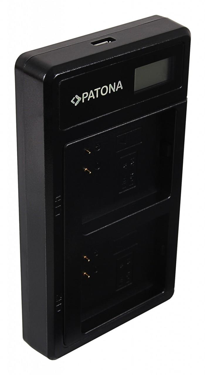 PATONA Dual LCD USB Charger f. Arlo PRO PRO-2 A-1 A1 Go A-2