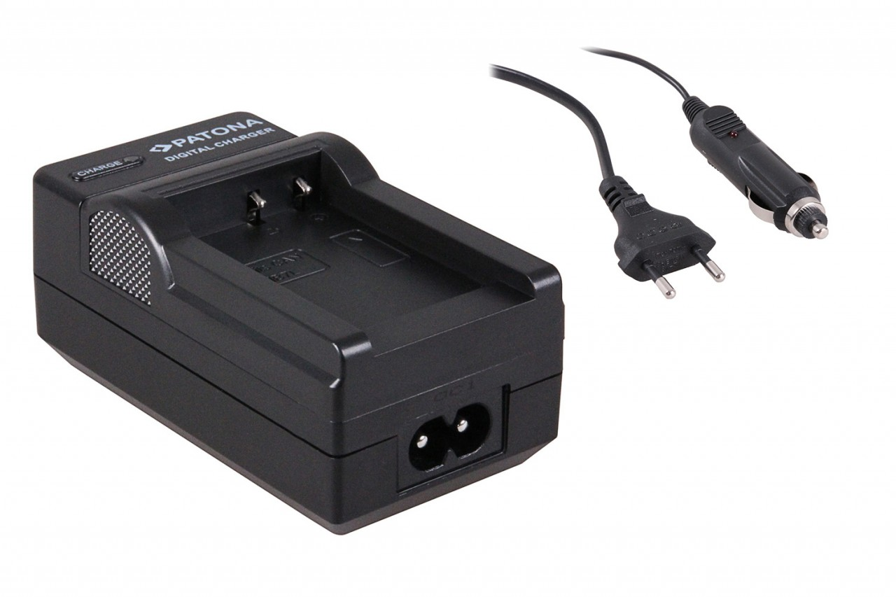 Charger for Canon Powershot G10, NB7L NB-7L inkl car