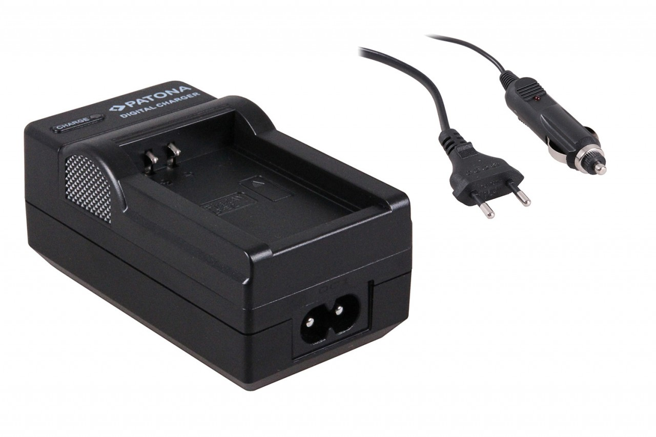 Charger for Canon LPE12 LP-E12 / Canon EOS M incl. car adapt
