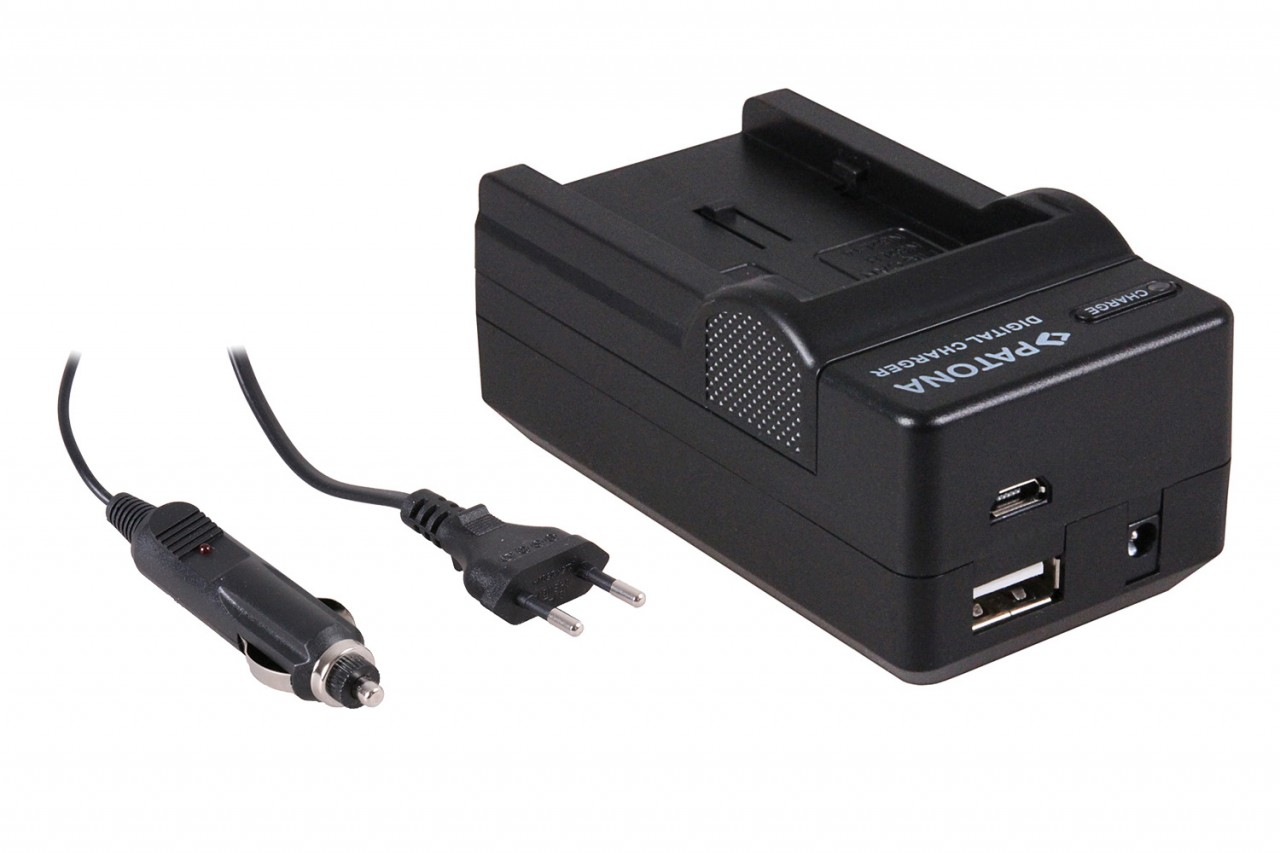 PATONA 4in1 Charger CANON-Battery NB-2L S30,S40,S45,S50,S60,