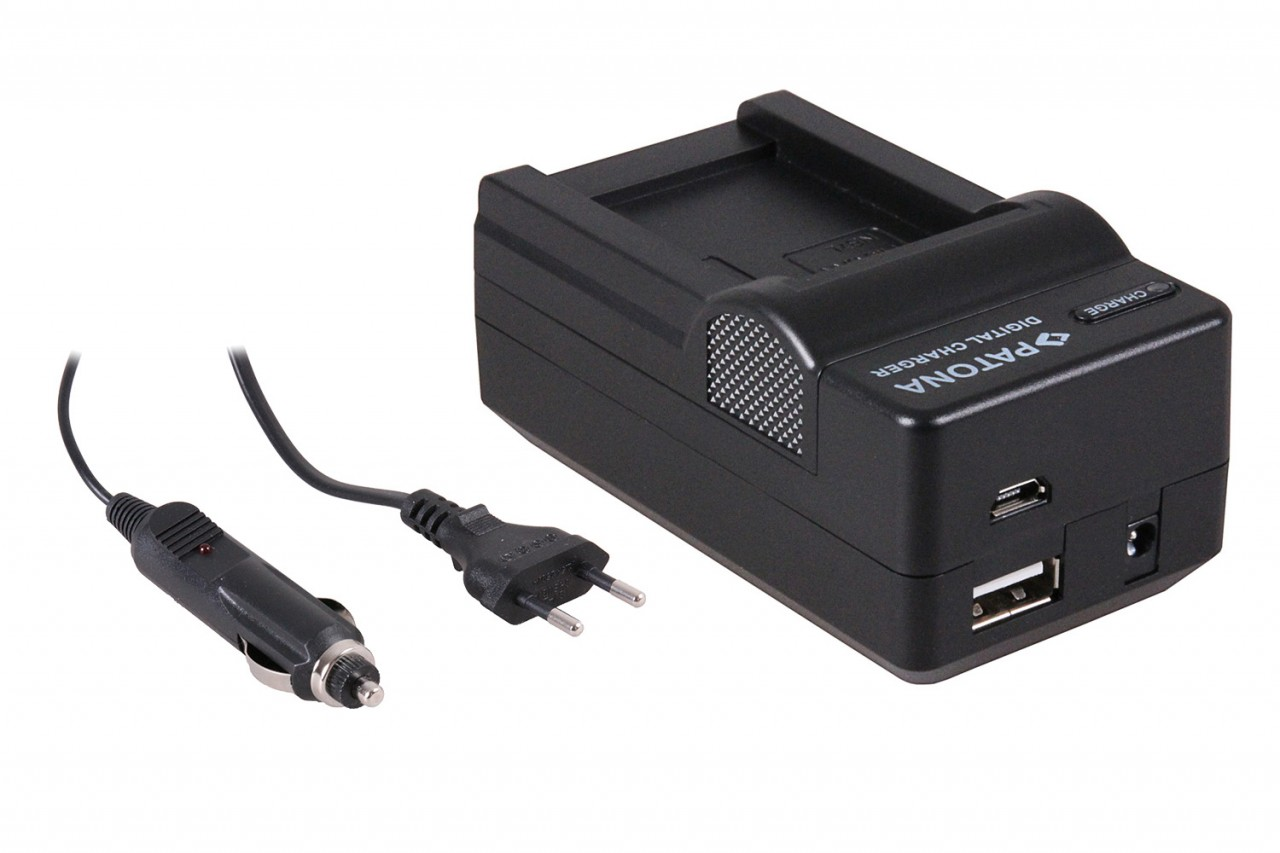 PATONA 4in1 Charger for Canon Powershot G10, NB7L NB-7L inkl