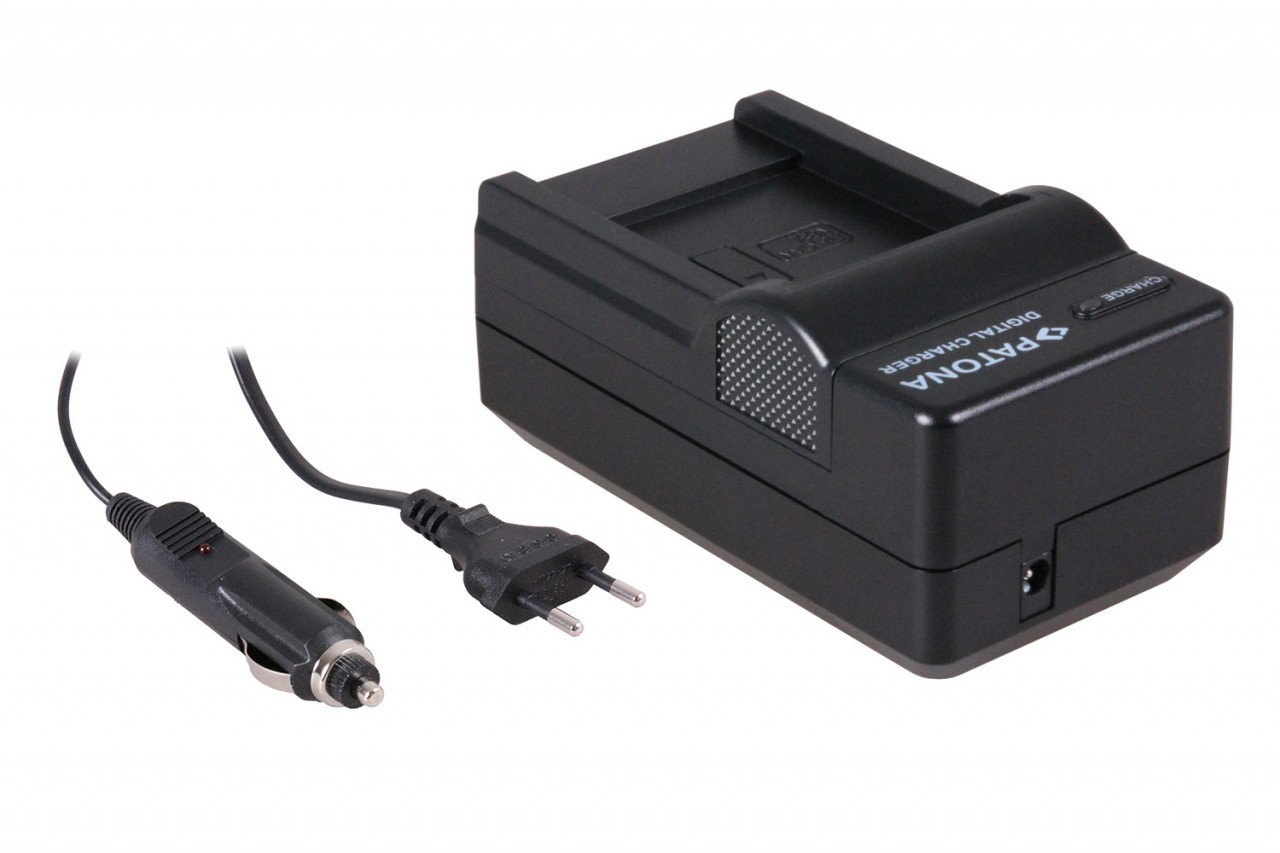 PATONA 4in1 Charger for Canon NB-8L PowerShot A3000 IS/AS310