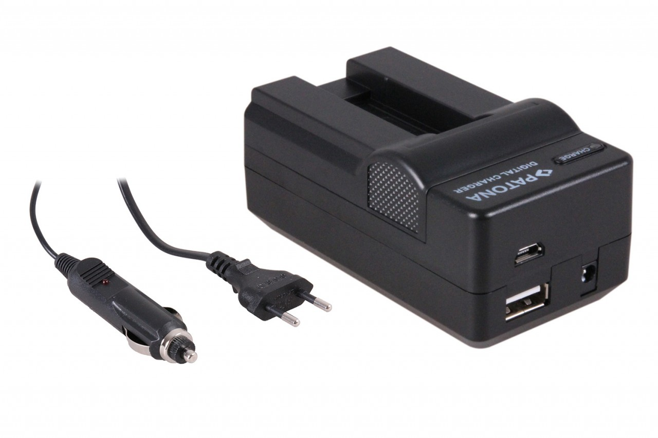 PATONA 4in1 Charger for Canon NB-9L SD4500 IS/IXUS 1000 IXY