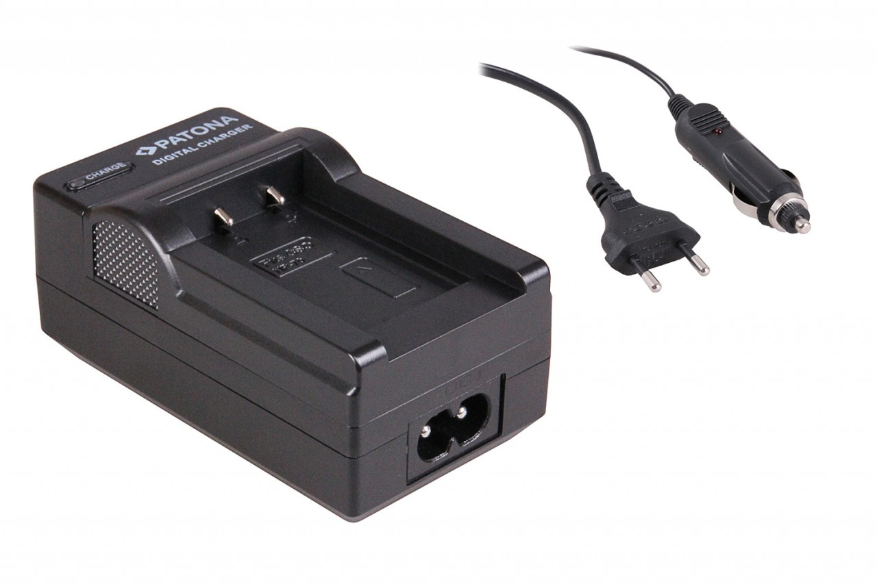 Charger f. Casio Exilim EX-Z150 Z155 Z250 NP70 NP-70