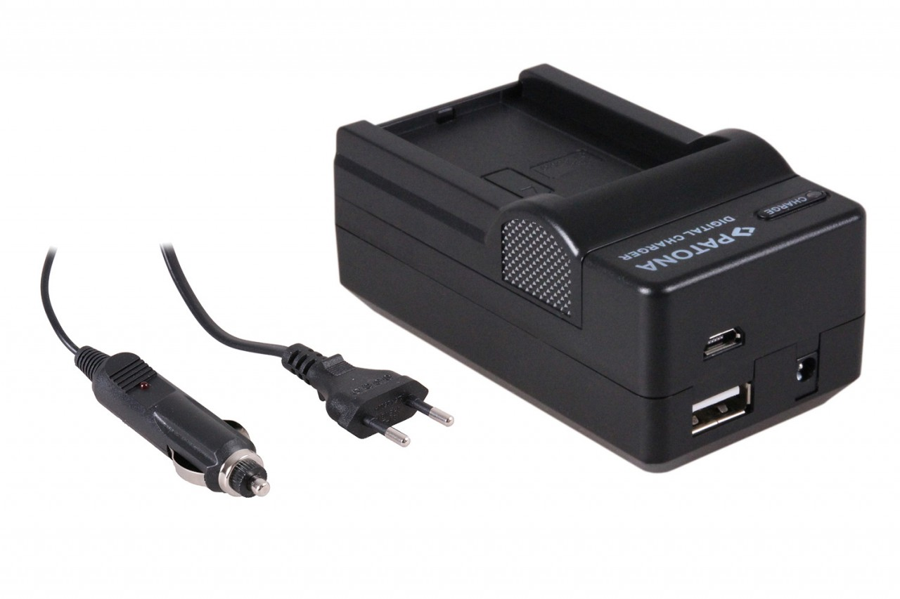 PATONA 4in1 Charger for Contour CT-3650 CT3650 Contour GPS H