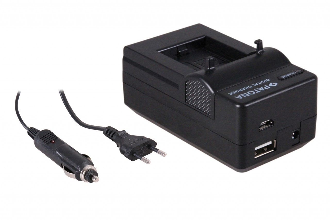 PATONA 4in1 Charger for GoPro HD Hero 3 AHDBT-201 AHDBT-301