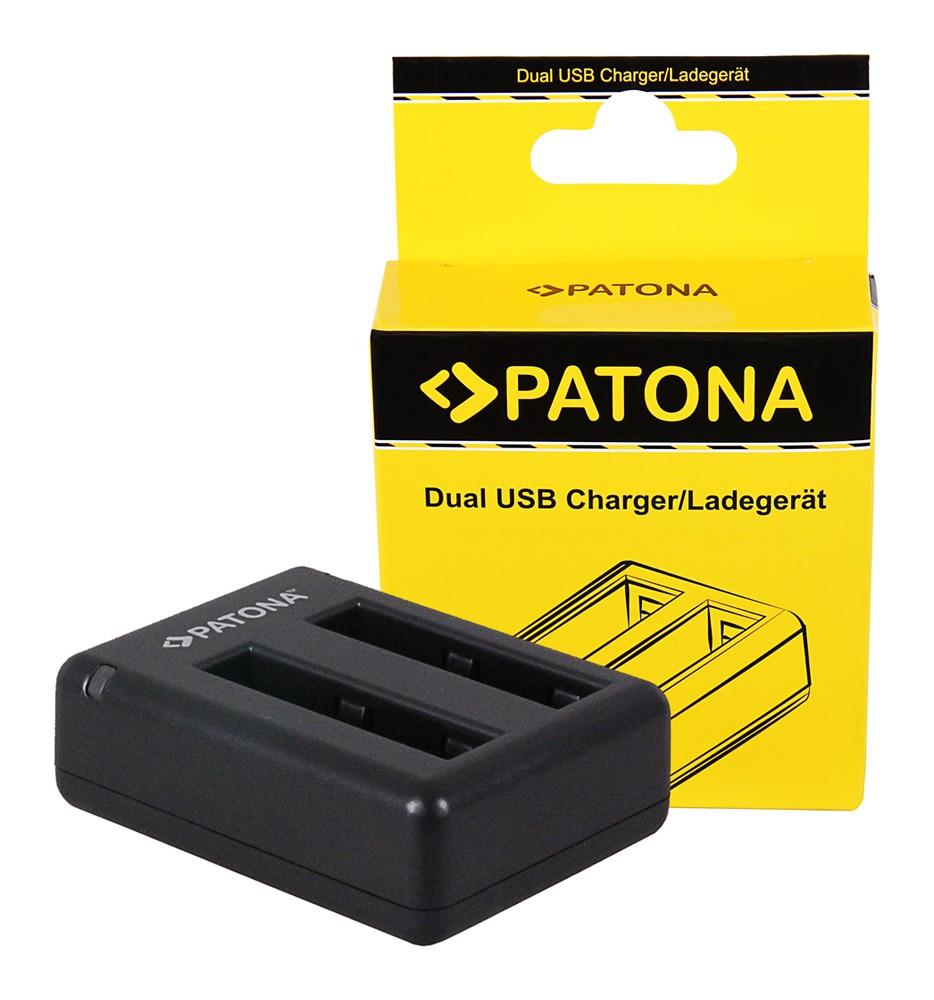 PATONA Dual Quick-Charger f.Xiaomi Yi Xiaoyi YDXJO1XY incl.