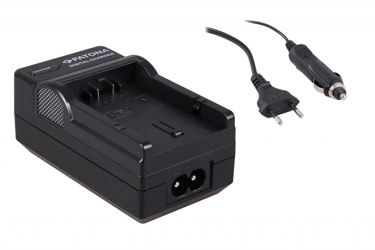 Charger Panasonic Battery BM7 Lumix CGA-S002E +car-Charger