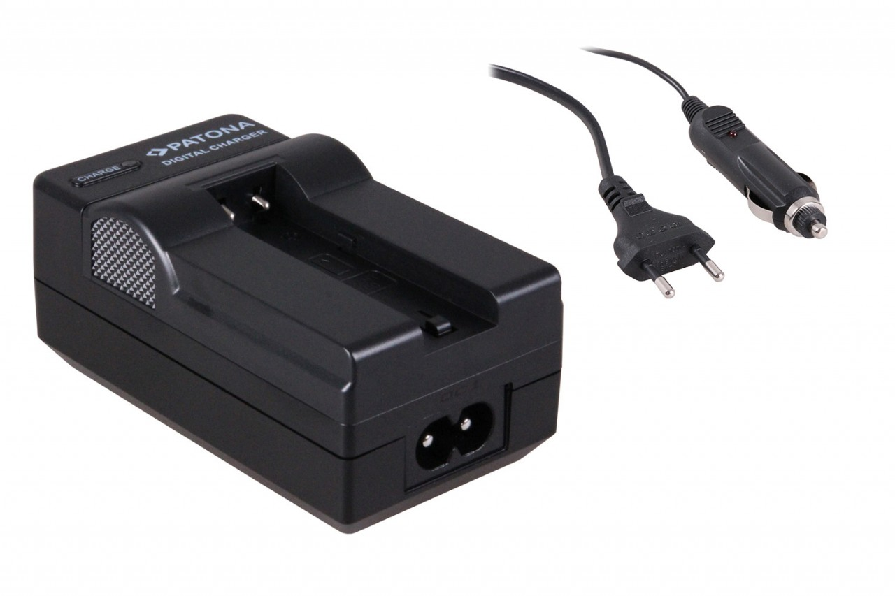 Charger for Samsung SLB-0637 L77 Dimage X60 X50