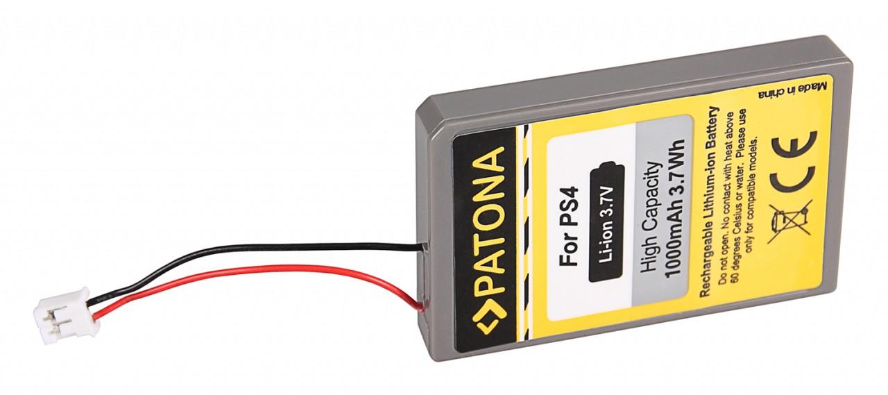 PATONA Battery f. Sony Playstation 4 PS4 Dualshock 4 V2 Cont