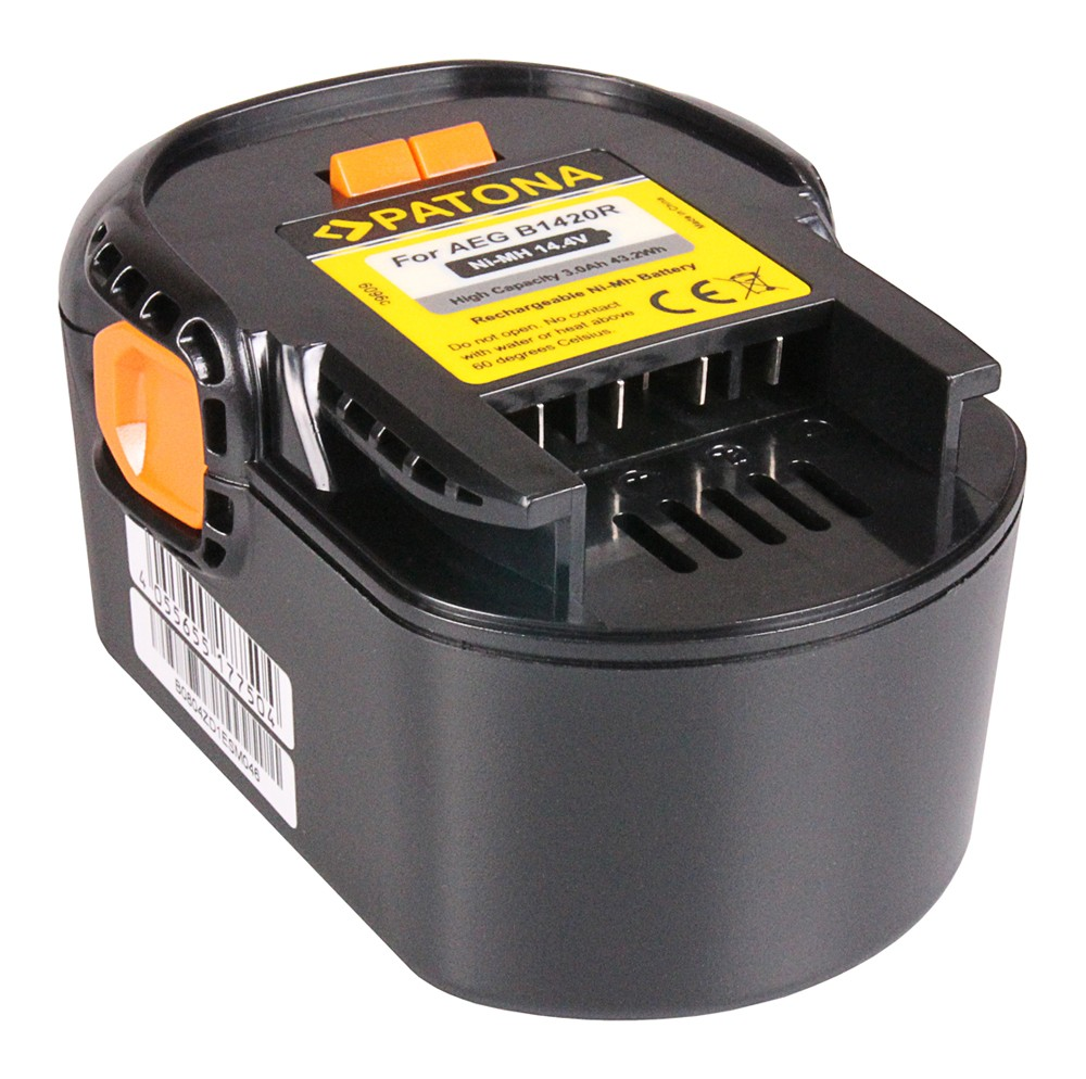 PATONA Battery f. AEG BBM 14 STX-R BS 14 X BS 14 XN BS 14 X-