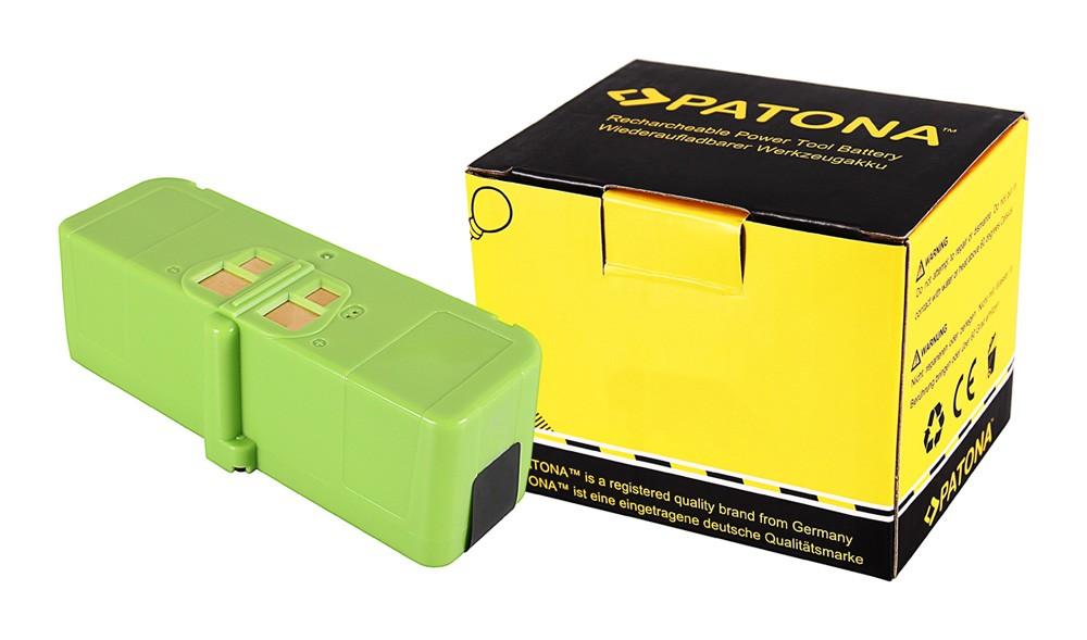 PATONA Battery f. Roomba iRobot 660 665 670 671 675 696 681