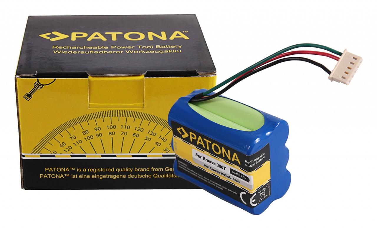 PATONA Battery f. iRobot Braava 380 380T 390 390T Mint Plus