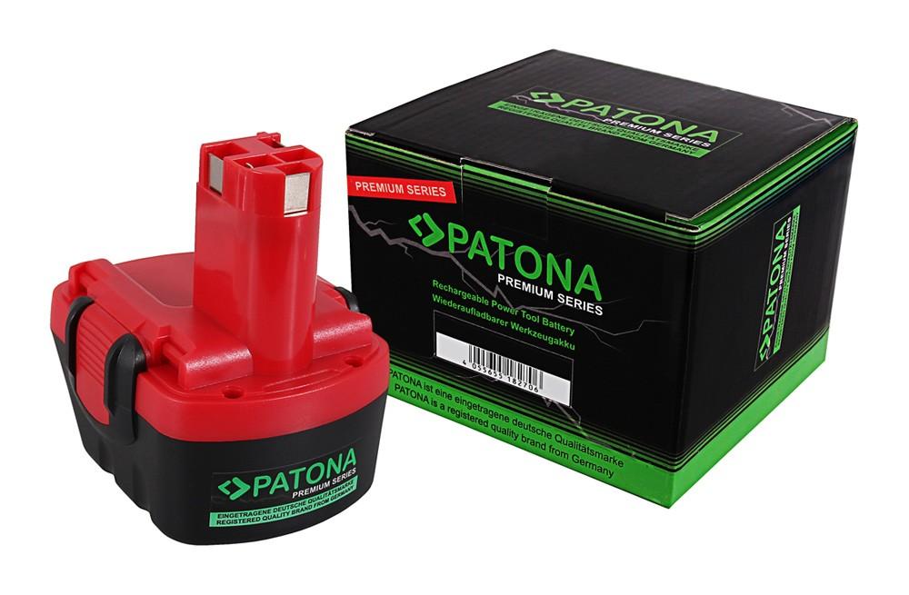 PATONA Premium Battery f. Bosch BAT043 Exact 8 12 700 GDR 12