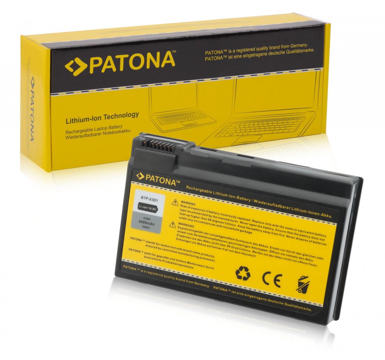 Battery for Acer Aspire 3020 3610 5020 5021 5022 BTP-63D1