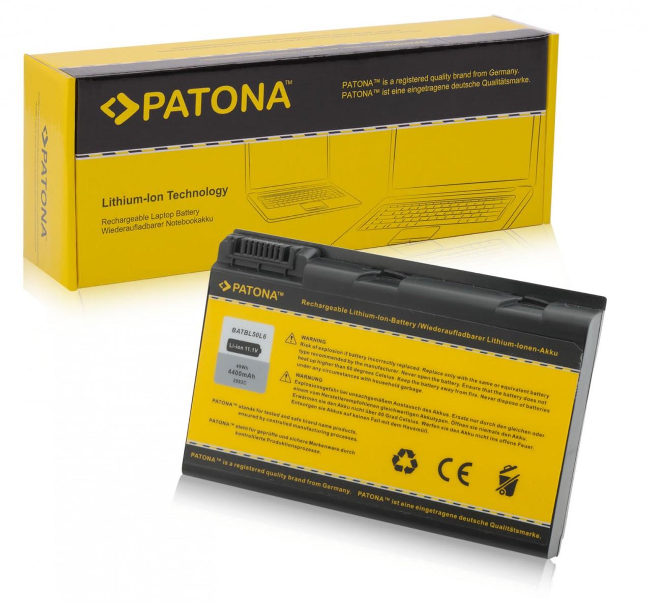 Battery f. Acer Aspire 3100 3103 3104 3692 3693 3694 4,4Ah
