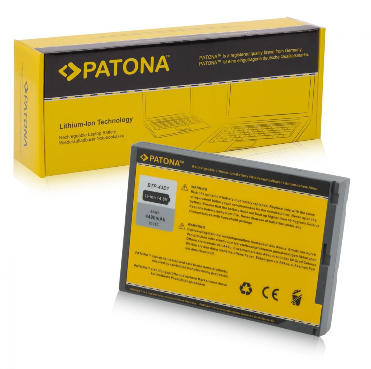 PATONA Battery f. Acer 220 222 223 225 230 233 234 260 261 2