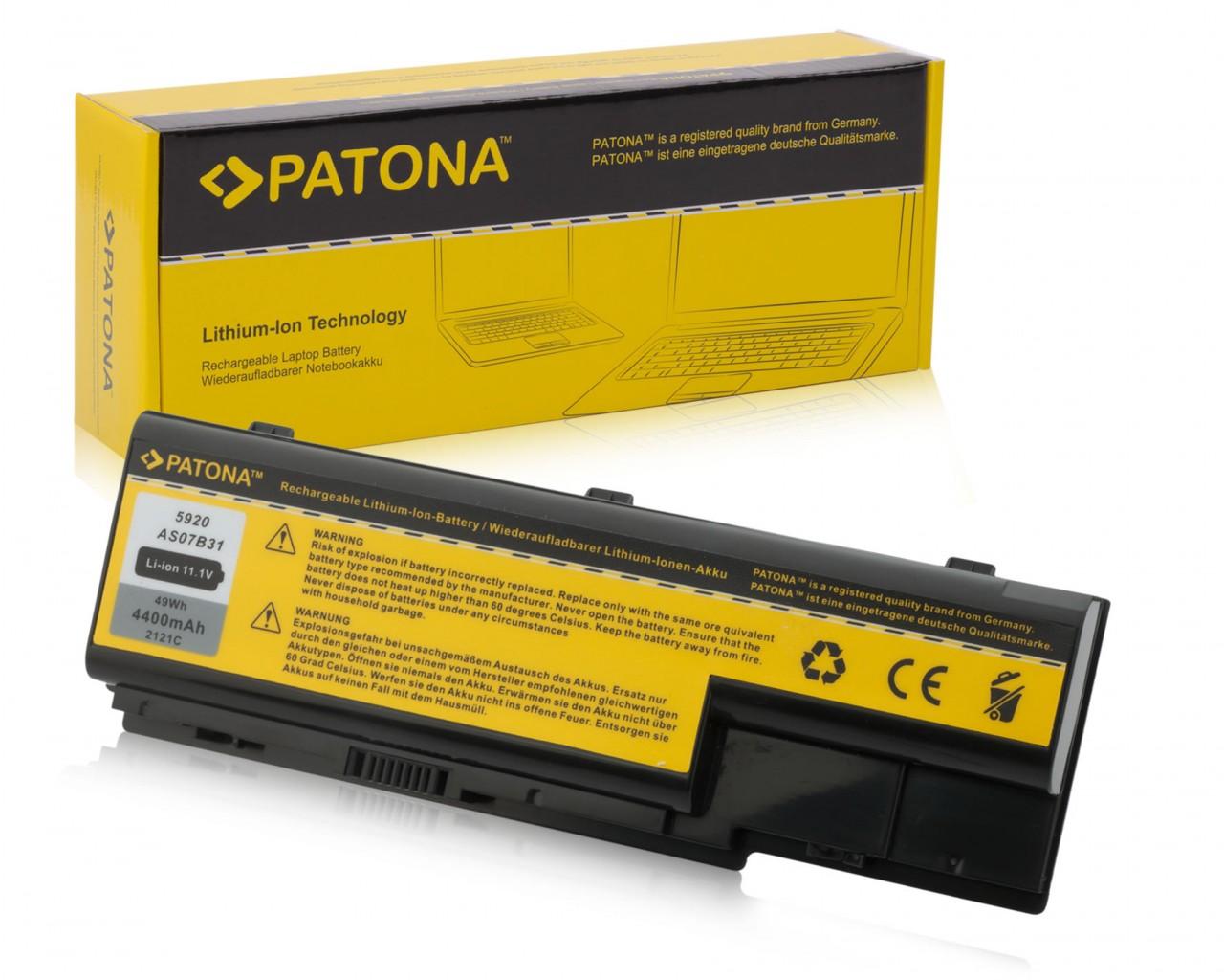 PATONA Battery Acer Aspire 5310 5520-6A2G12Mi 5710Z 5720 11,