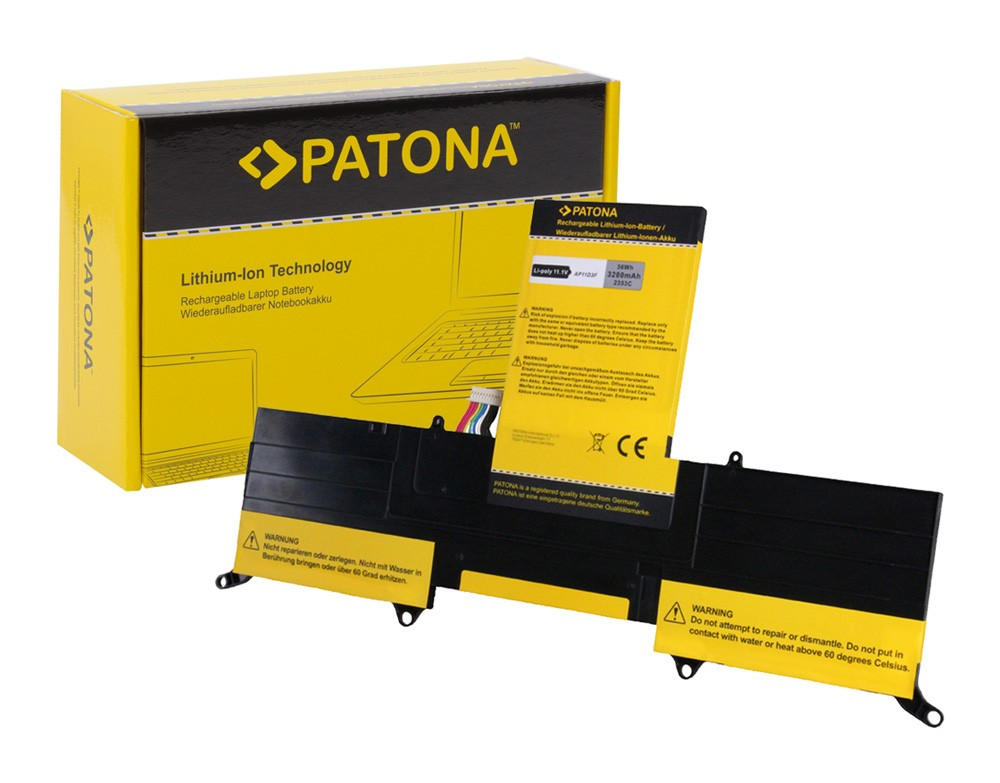 PATONA Battery .f Acer Aspire S3-951 Serie