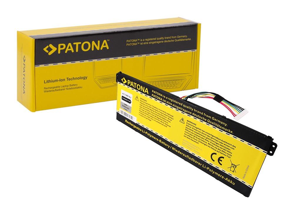 PATONA Battery f. Acer AC14B18J Aspire E3-111 E3-112 E3-112M