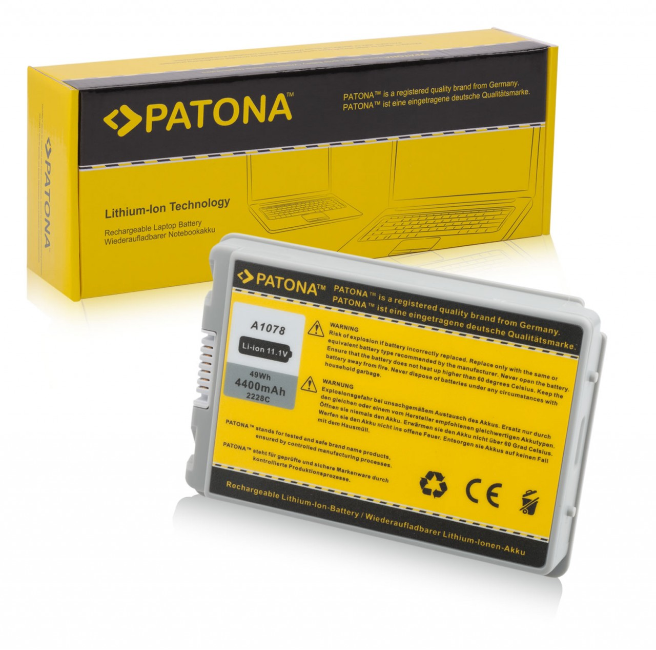 """Battery for Apple PowerBook G4 15"""" A1045 A1078 A1148 M9325 A"""