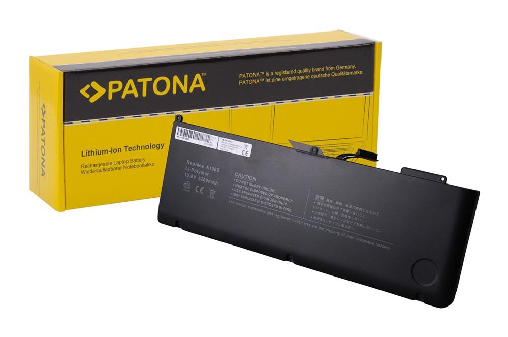 "PATONA Battery f. Apple MacBook Pro 15"" A1286 2011 2012 A13"