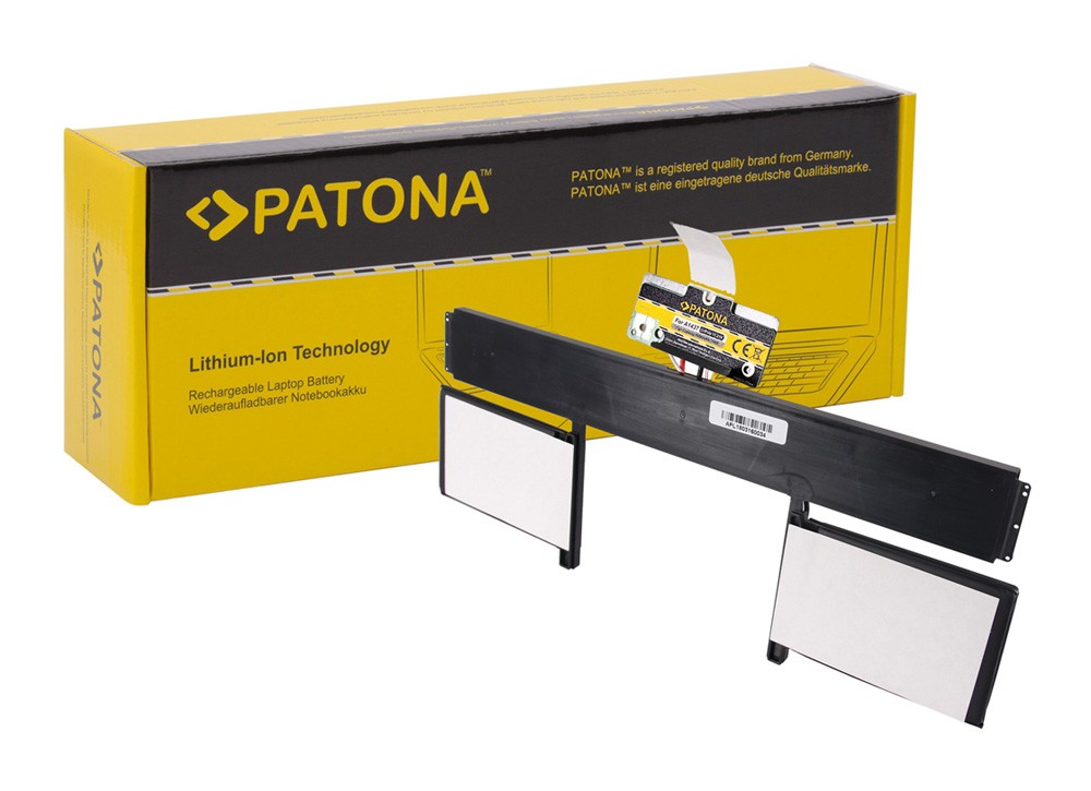 PATONA Battery f. Apple MacBookpro 10.2 A1437 2012-2013, MD2