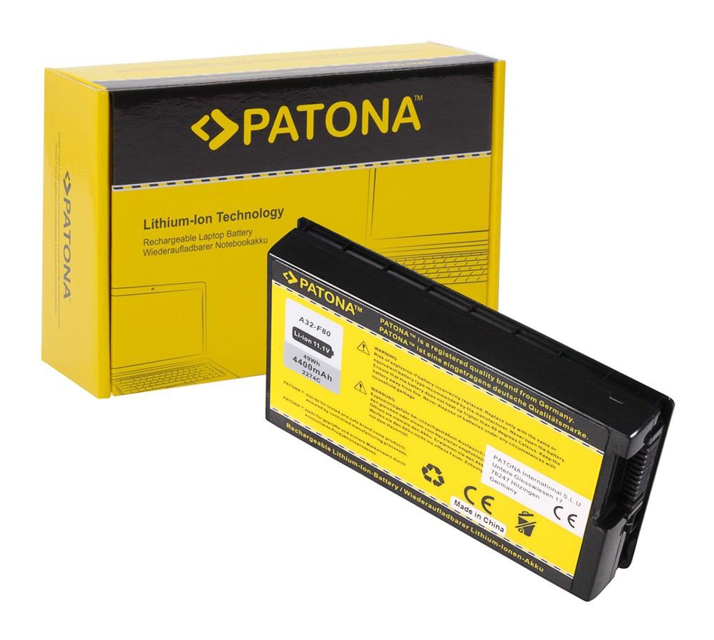 Battery f. Asus A32-F80 A32-F80A A32-F80H X61 X61GX X61S X61