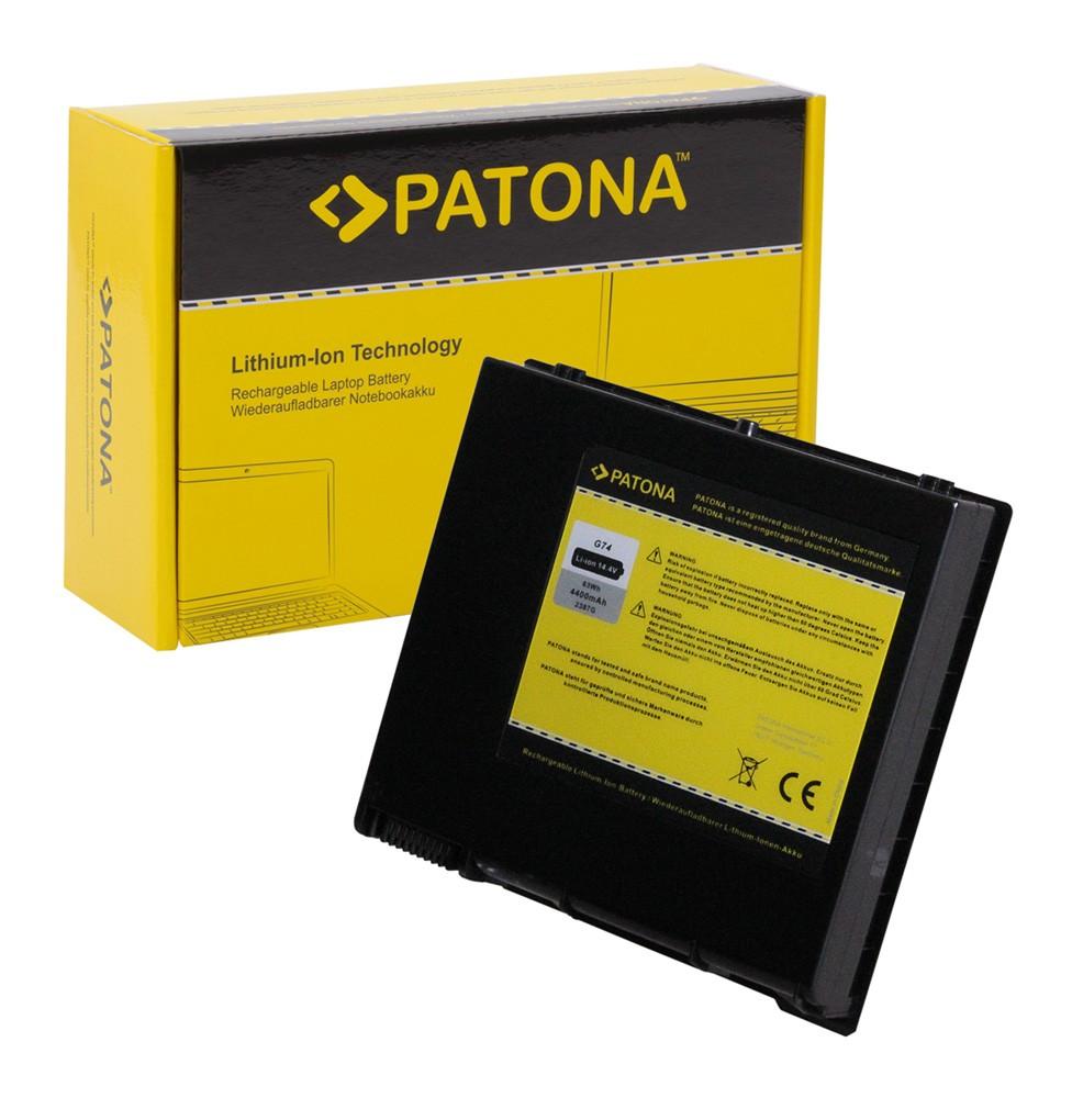 PATONA Battery f. Asus A42-G74 ICR18650-26F LC42SD128