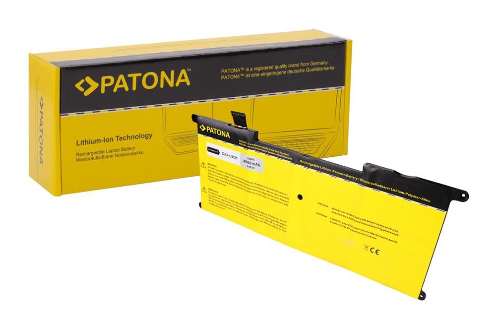 PATONA Battery f. Asus UX21 Series Ultrabook UX21 UX21A UX21