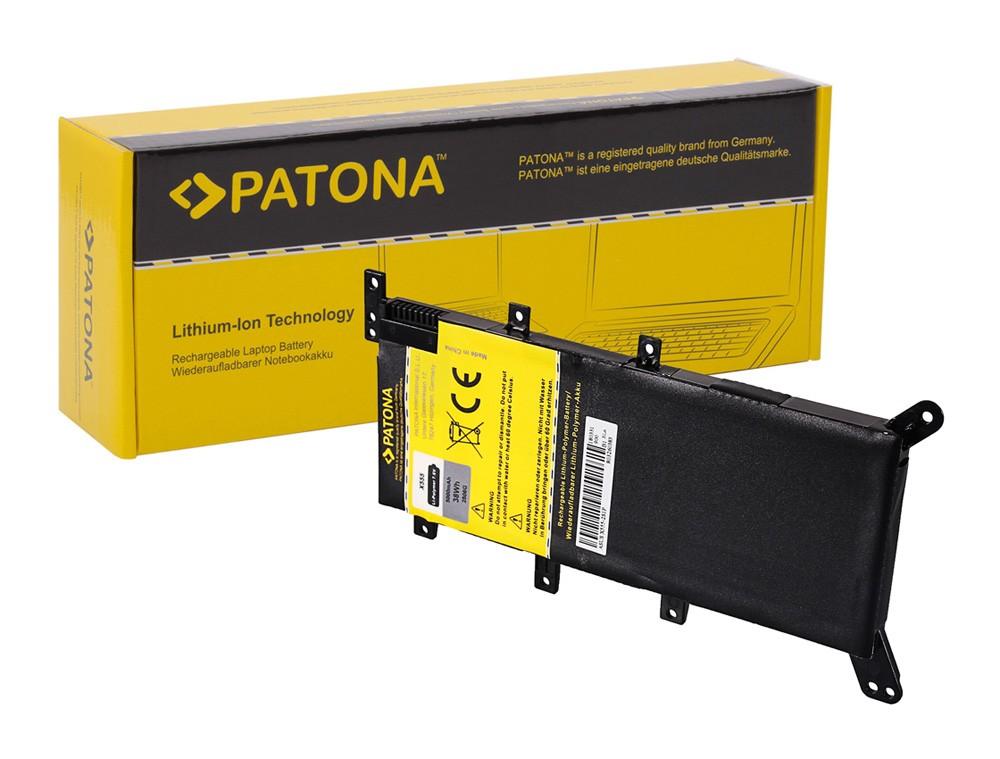 PATONA Battery f. Asus X555 Serie C21N1347 X555 X555L X555LA
