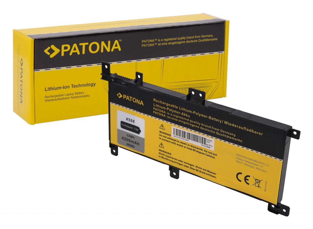 PATONA Battery f. Asus X556 Serie 0B200-01750000 C21-N1509 C