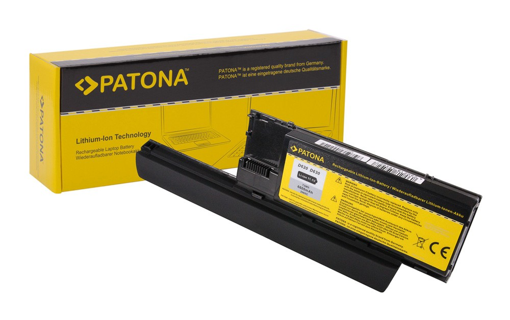 Battery DELL Latitude D620 D630 Precision M230 *6600mAh*
