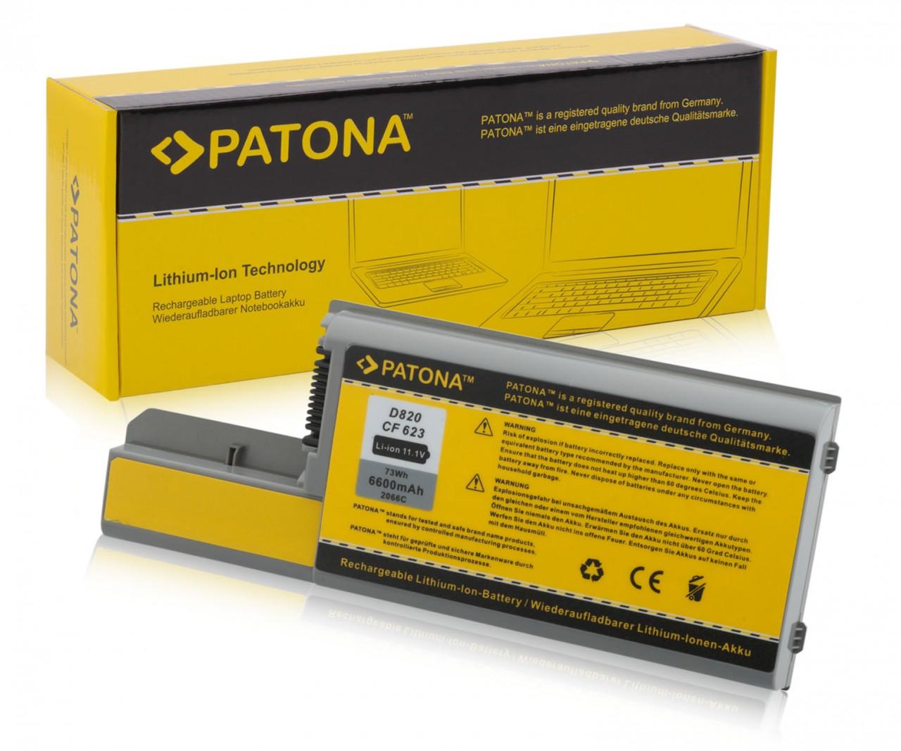Battery DELL Latitude D531 D820 D830 M4300 M65 *6600mAh*