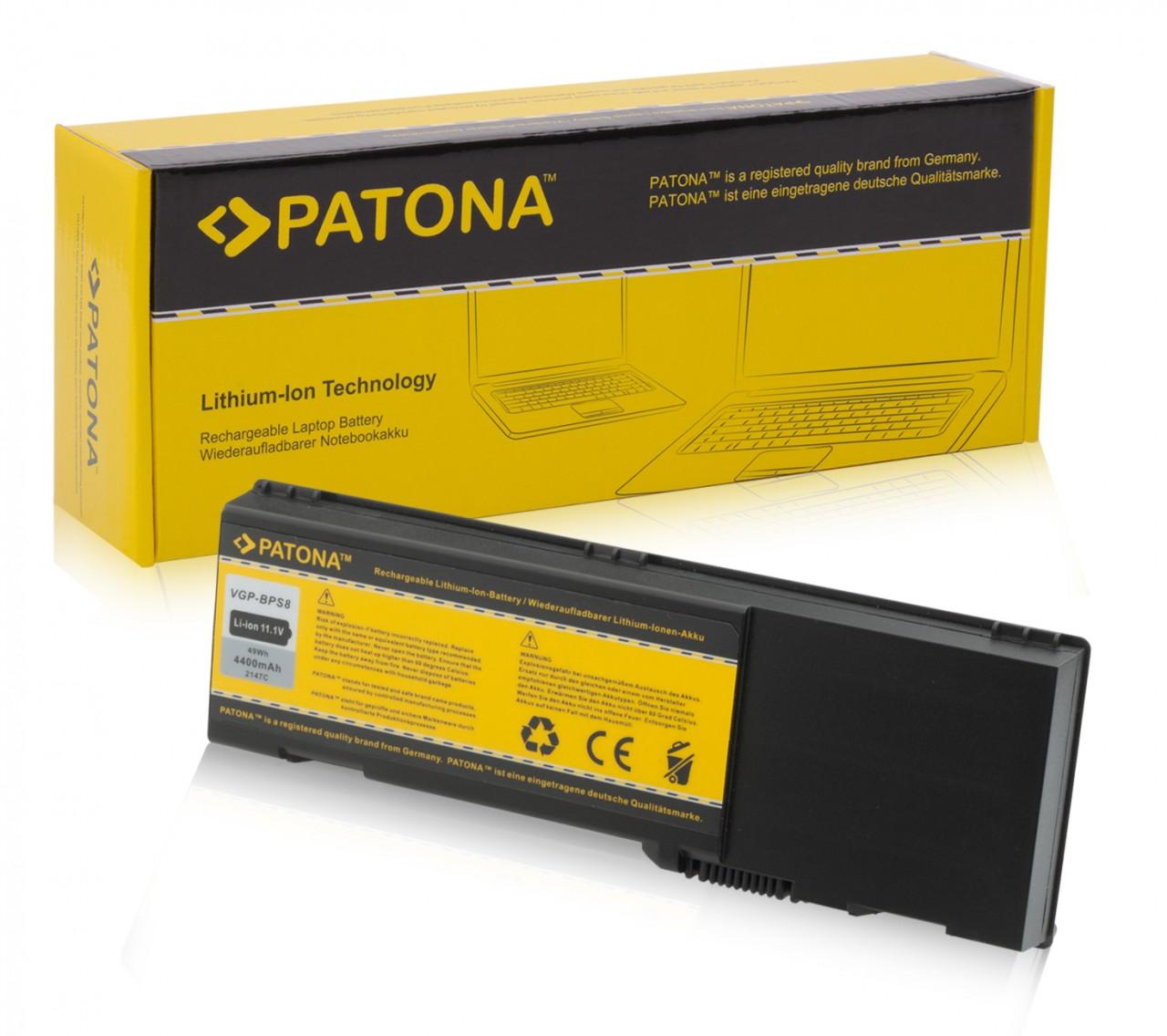 Battery f. DELL Inspiron 6400 E1501 Latitude 131L, 4,4Ah