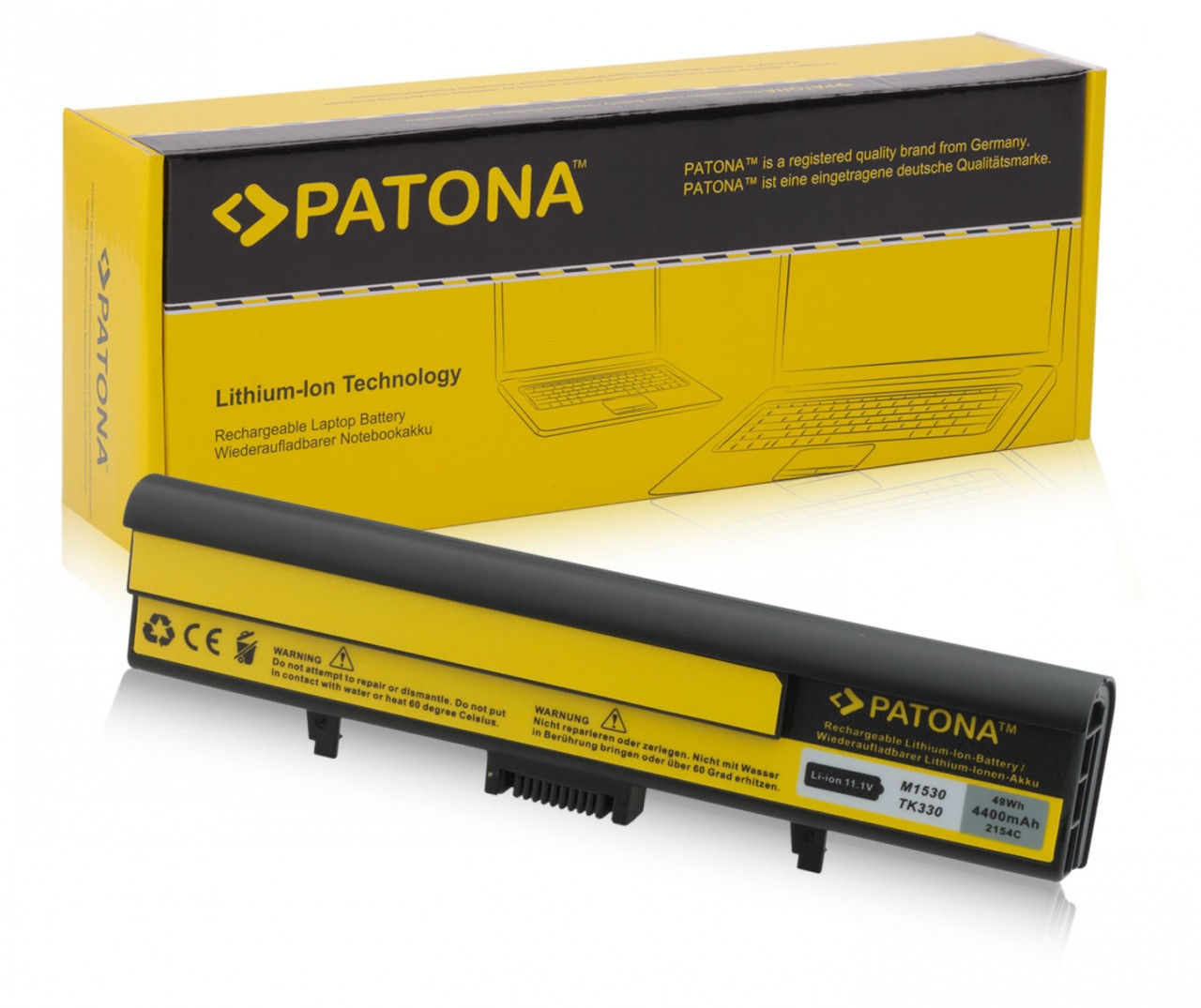 Battery Dell 312-0660, 312-0662, 312-0663, XPS M1530 Serie