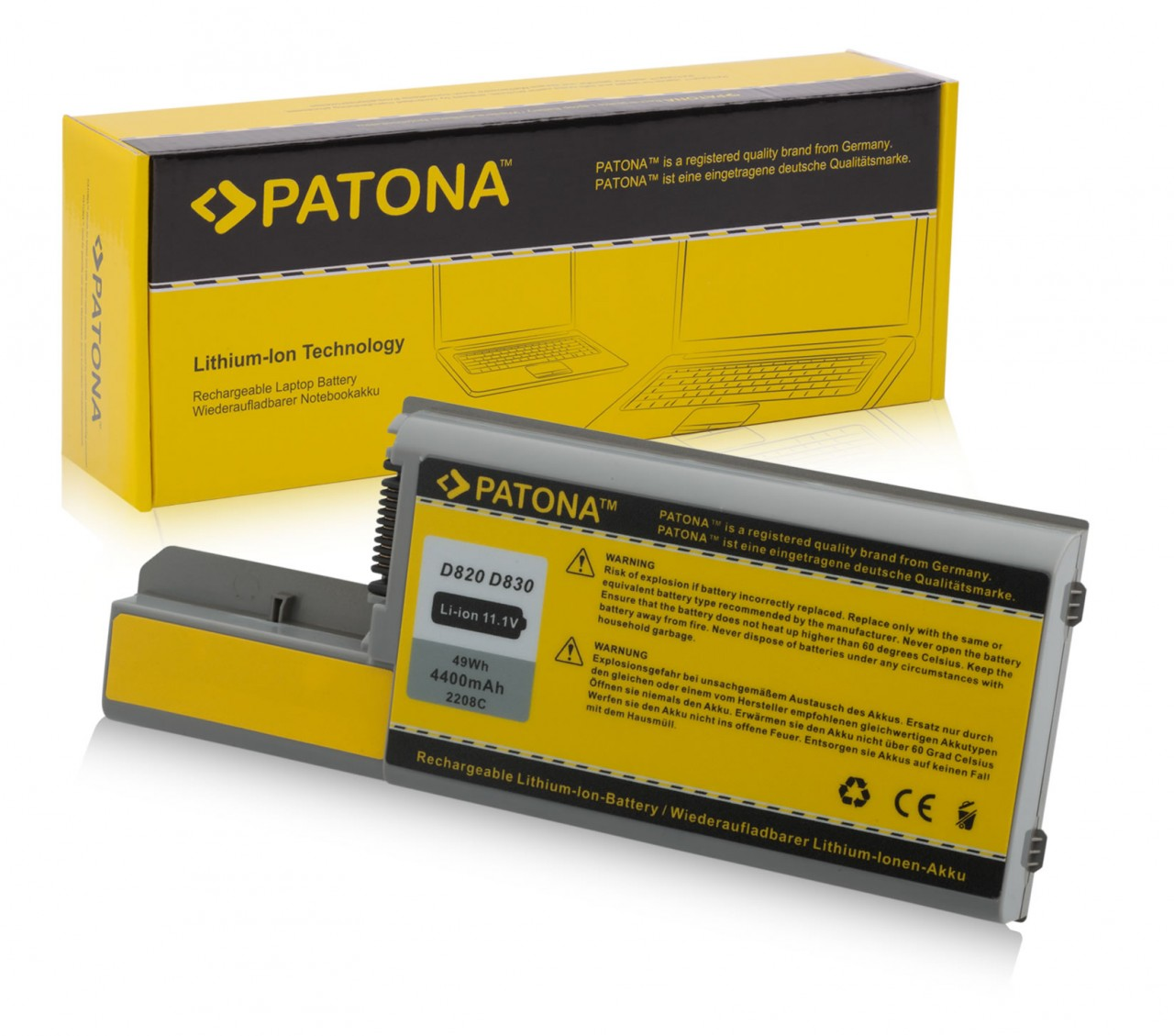 Battery f. DELL 312-0393 451-10327 451-10326 451-10309 Dell