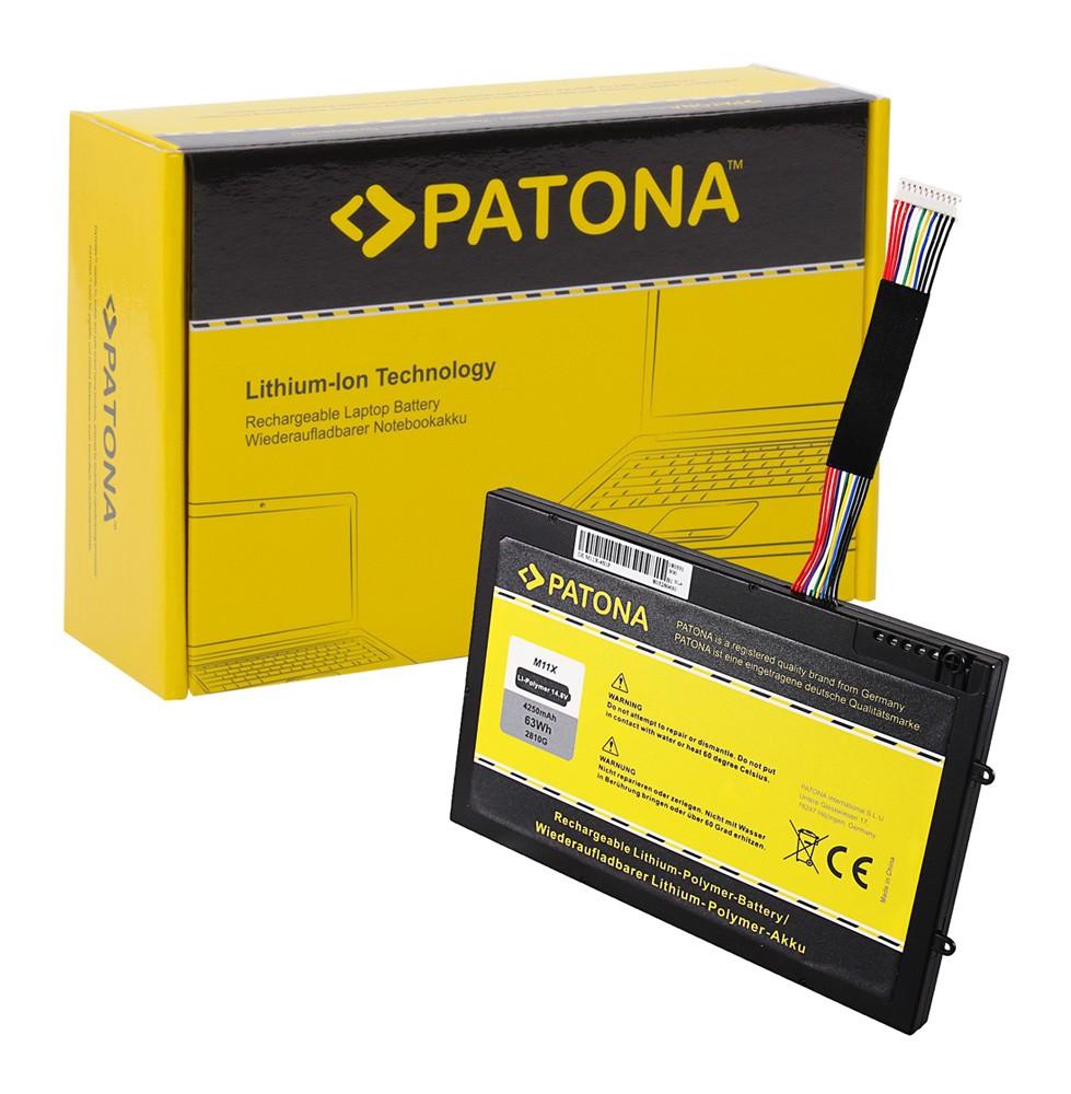 PATONA Battery f. Dell M11x M14x PT6V8 8P6X6 08P6X6 KR-08P6X