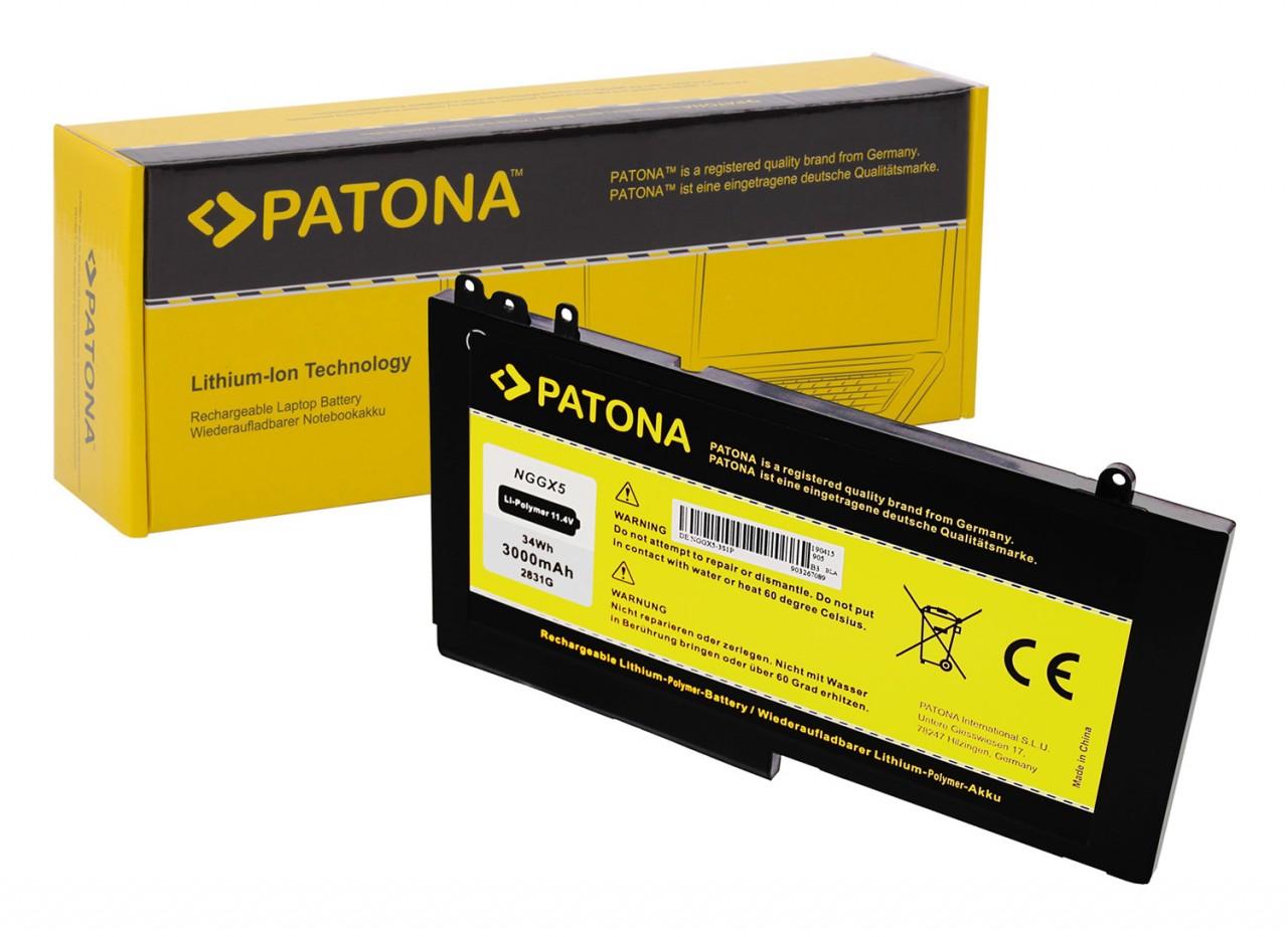 PATONA Battery f. Dell Latitude E5270 E5470 E5570 Precision