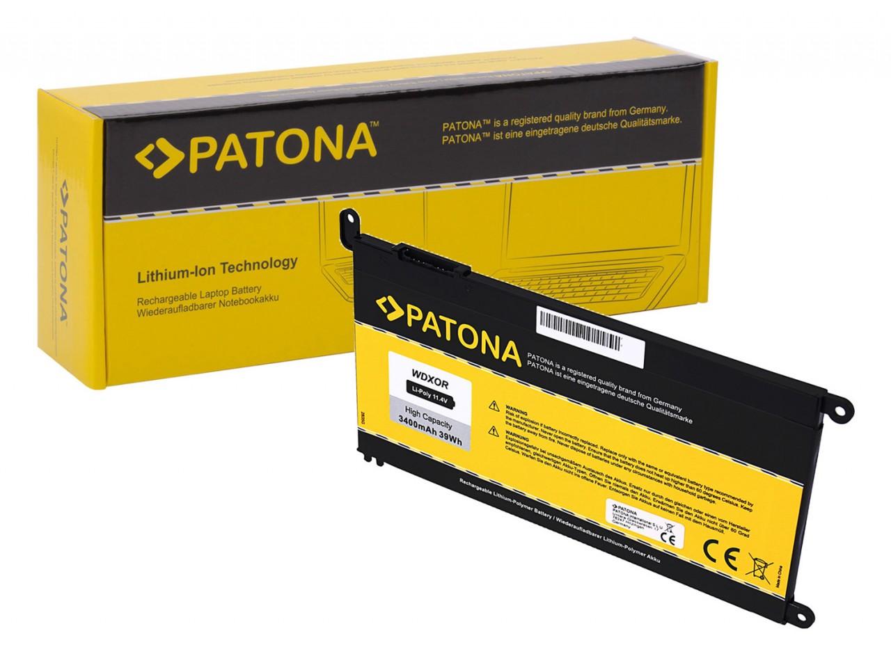 PATONA Battery f. Dell WDXOR Inspiron 13 5638 5378 5379 7368