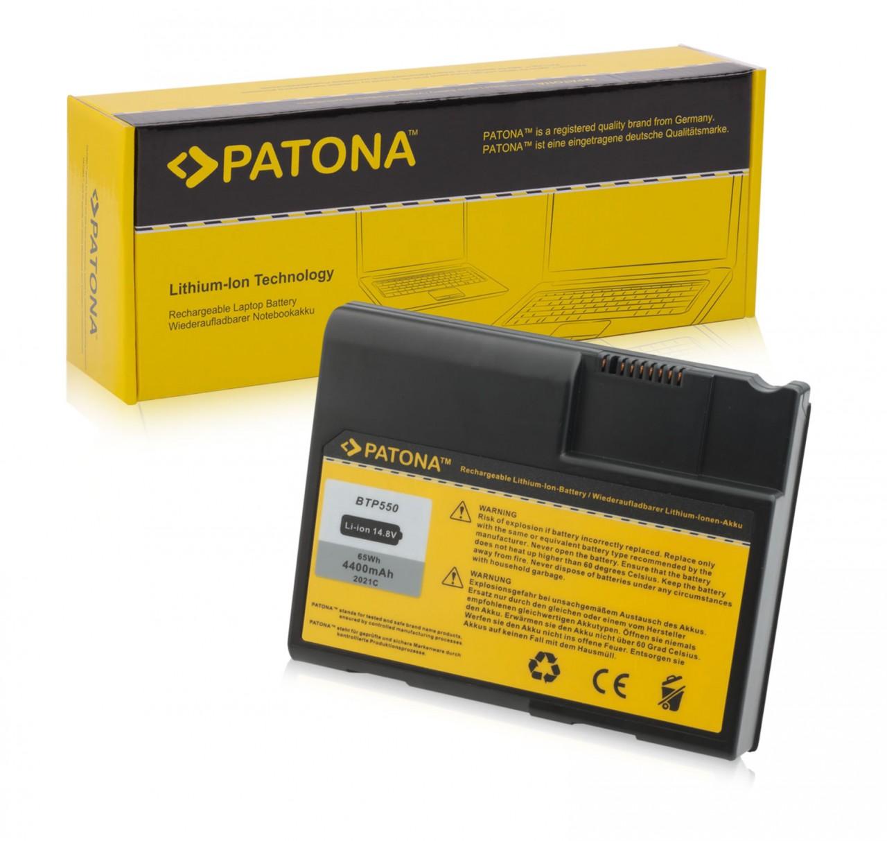 Battery f. Fujitsu Siemens Amilo A-D CY23 CY25 BAT30N3L