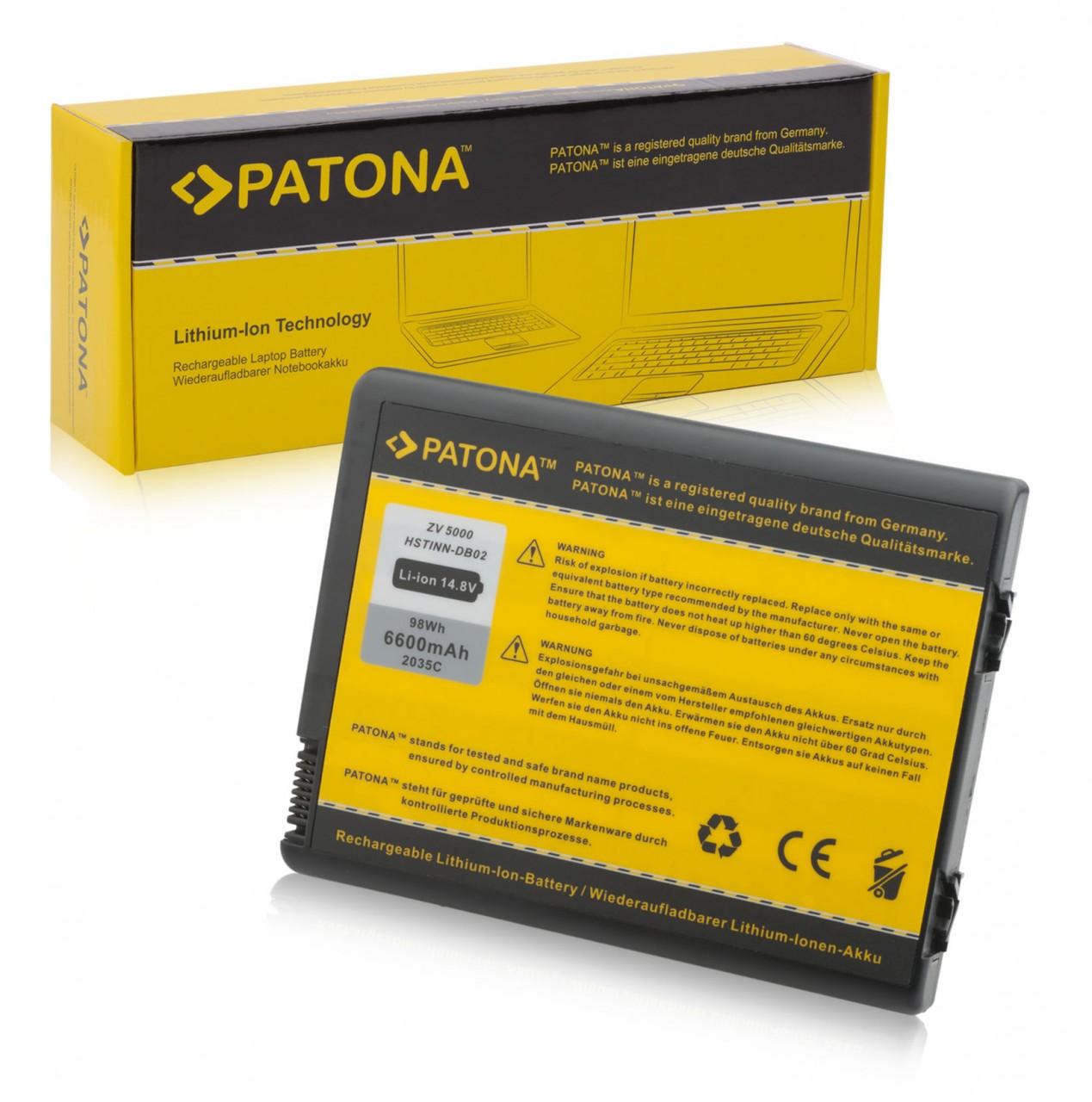 Battery for HP Pavilion ZX6000 ZX5000 ZD8200 ZV6000 ZV5000
