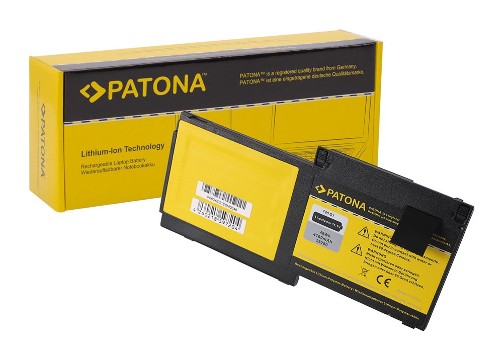 PATONA Battery f.  HP SB03XL Elitebook 725 G1 820 G1 820 HST