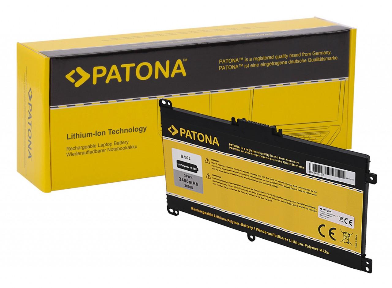 PATONA Battery f. HP BK03 Pavilion X360 BK03XL 916811-855 TP